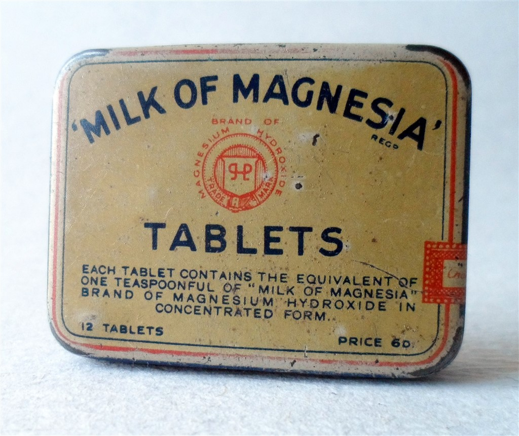Phillips Milk Of Magnesia Tablets