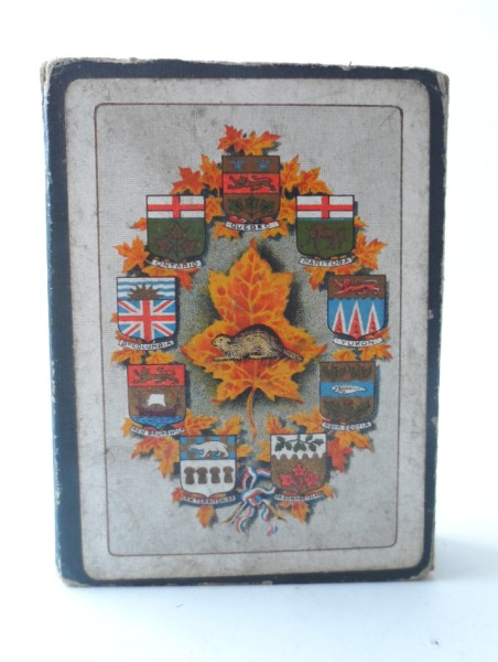 Vintage Playing Cards Souvenir Of Canada Ocean To Ocean Ns 52 Views W J Gage Amp Co Limited Toronto