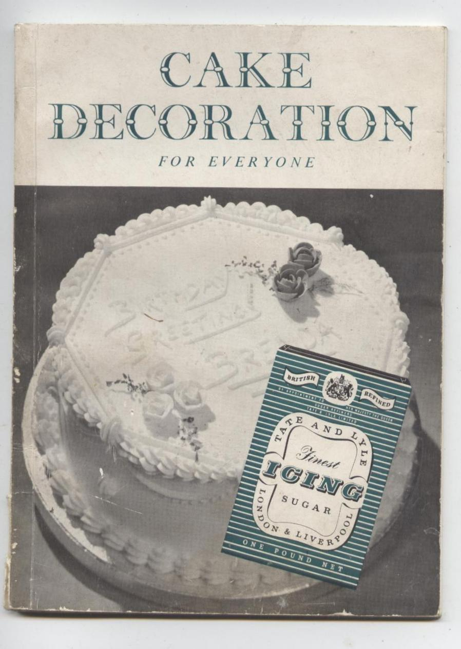 Vintage Recipe Book Tate Amp Lyle Liverpool Cake Decoration