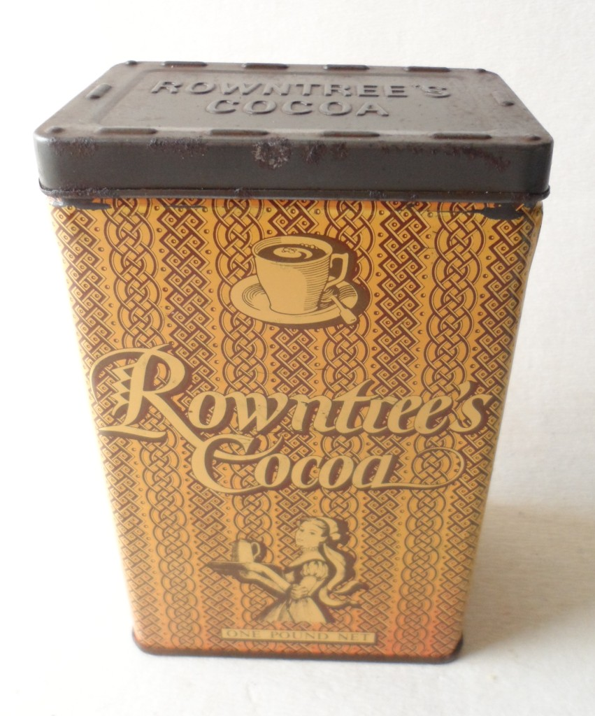 Vintage Rowntree Amp Co Ltd York England Elect Cocoa 1lb One