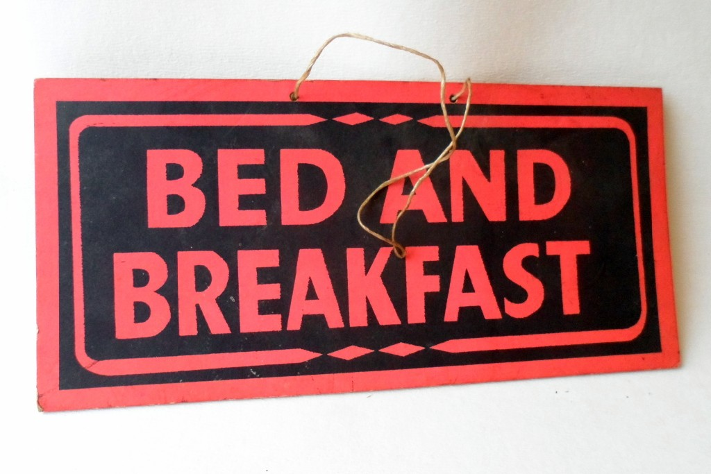 Bed And Breakfast Sign Bed And Breakfast Signs