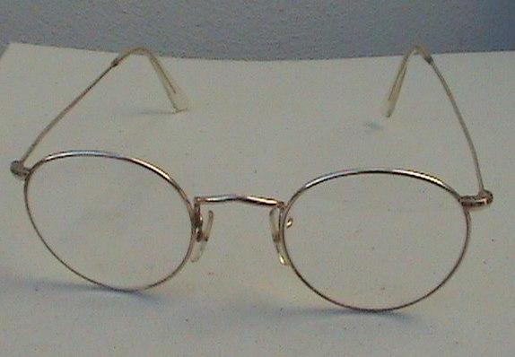 Eyeglasses Frame Adjustment : Vintage Spectacles Glasses Mens HTO 20 1000 Gold Filled ...