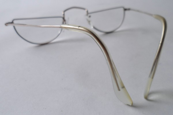 f3c0561bac3 Vintage Reading Spectacles NHTO Gold Filled Half Moon Eye Spectacles  Glasses Readers Frames 1950s