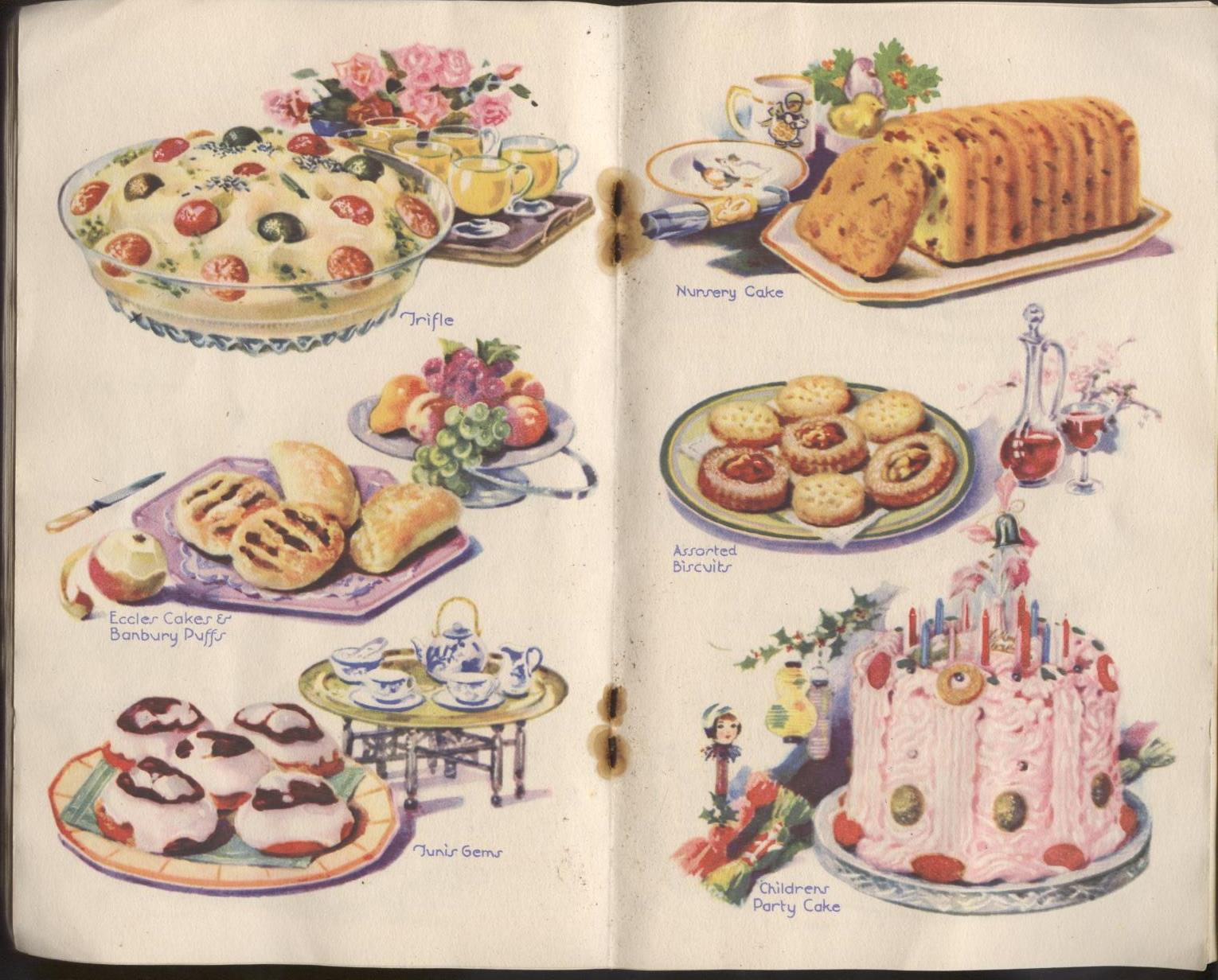 Vintage Borwick s Baking Powder 250 Recipes Elizabeth ...