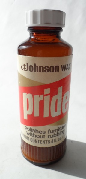 Nos Vintage Johnson Wax Frimley Green Surrey Pride Furniture Polish Full Amp Unused Circa 1970s