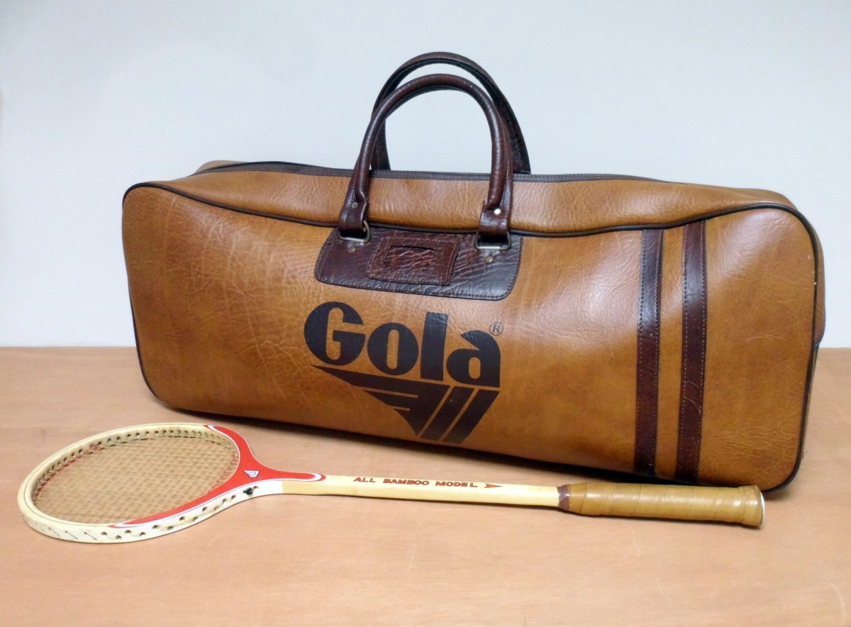 f9e1a58b4d Very HTF Vintage Original Genuine Gola Gym Sports Exercise Holdall Bag  Circa 1970s Case Travel Weekend Luggage Vinyl Leather