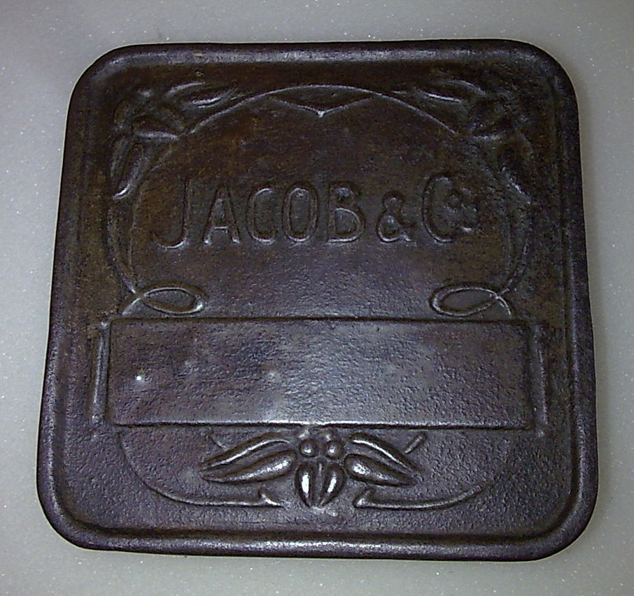 Vintage Art Nouveau Jacob Amp Co S Jacobs Sample Biscuit Tin