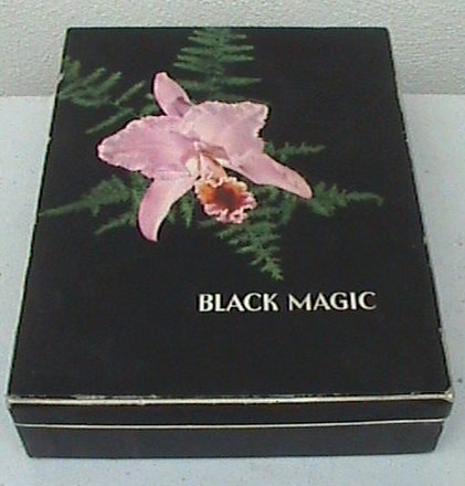 Vintage Chocolate Box Black Magic Rowntree York England