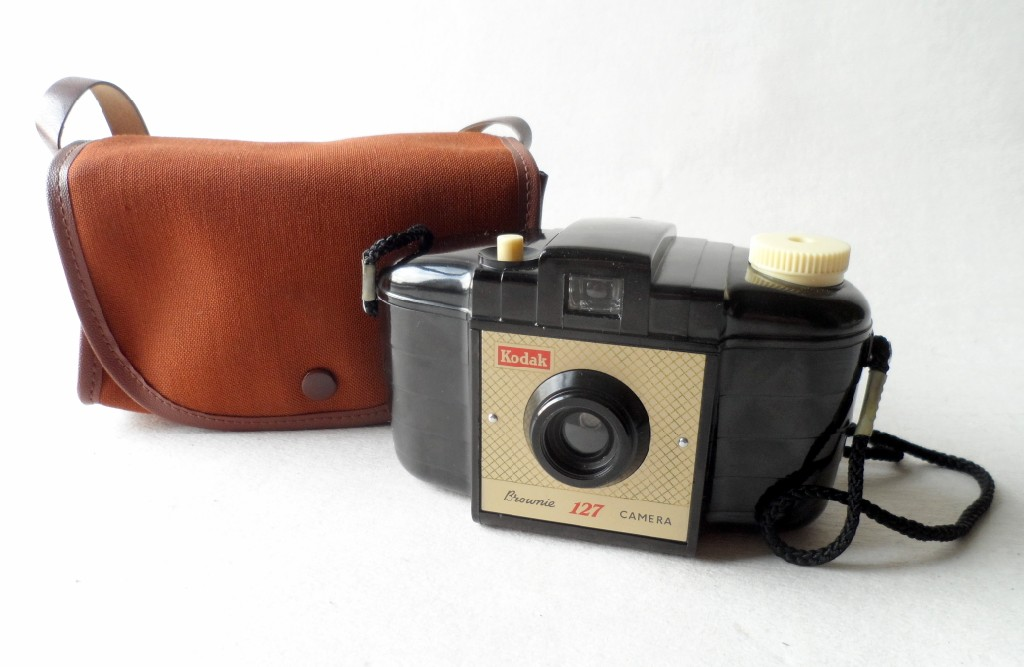 Brownie 127 Camera & Case